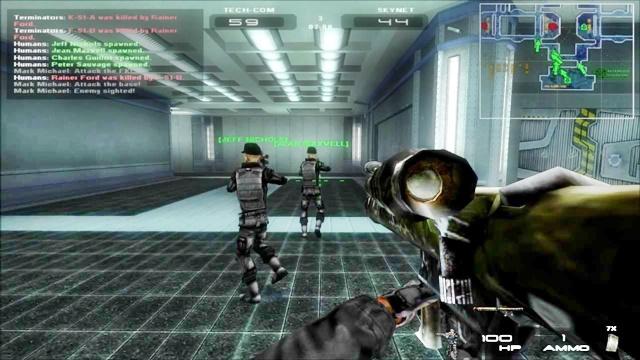 Terminator 3 Rise Of The Machines Pc Game