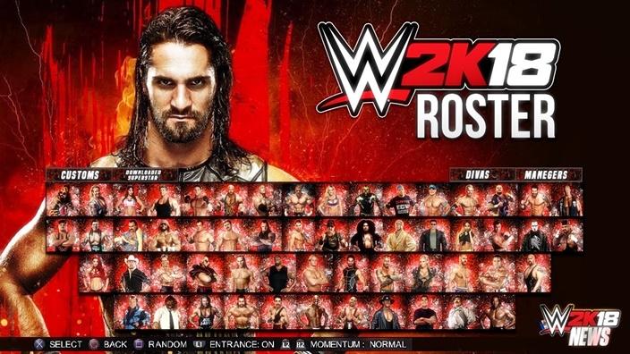 WWE 2K18 PC Game
