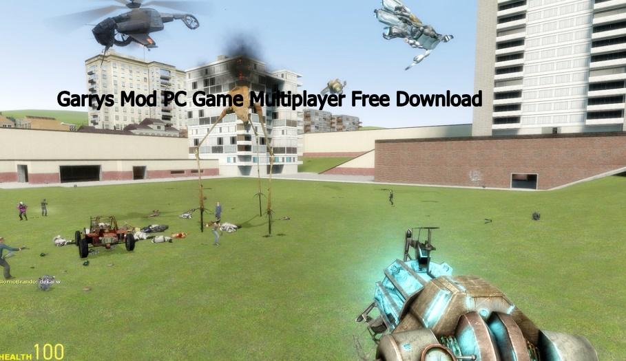 Garrys Mod PC Game Multiplayer Free Download
