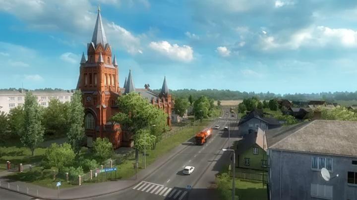 Euro Truck Simulator 2 Beyond the Baltic Sea PC Game