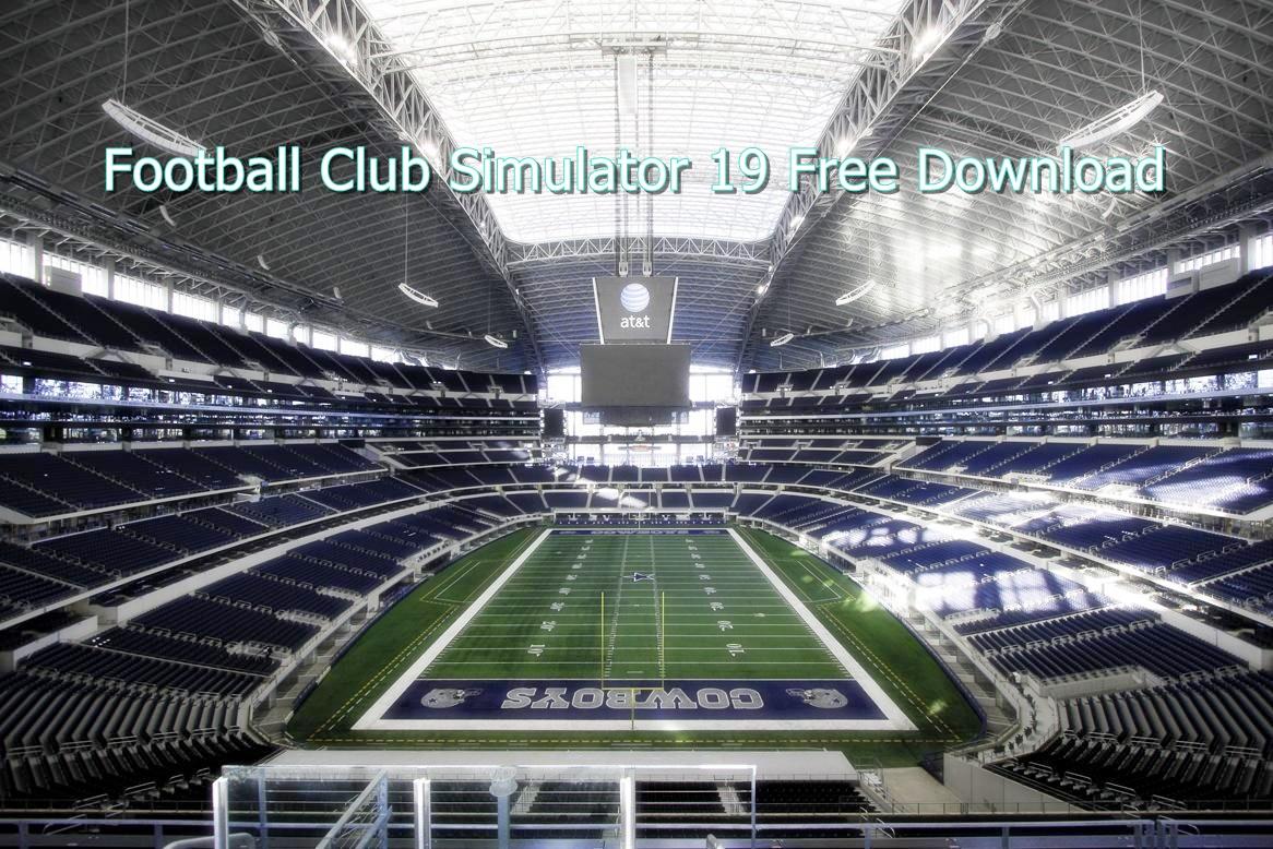 Football Club Simulator 19 Free Download