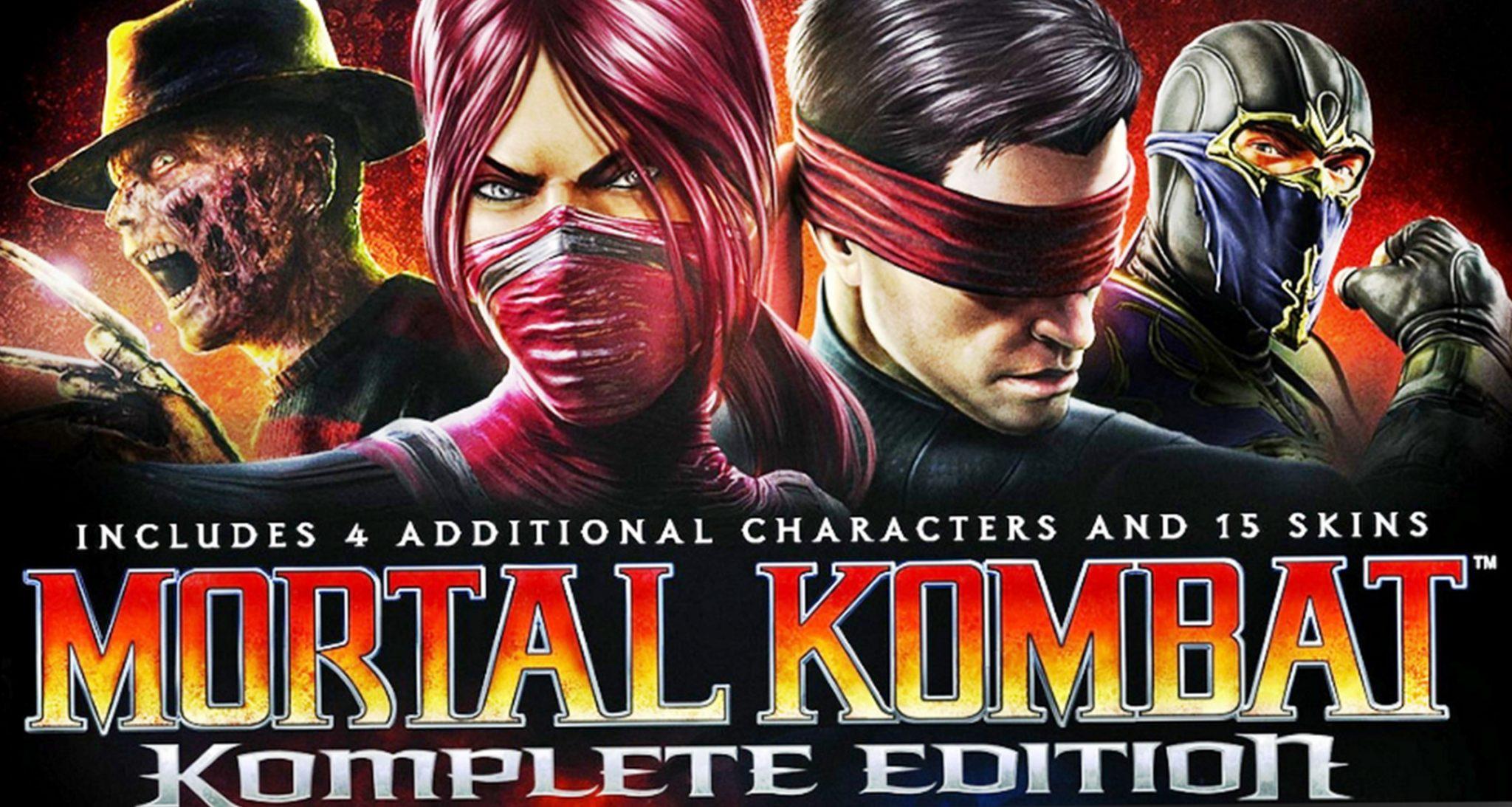 Mortal kombat komplete edition Download Free