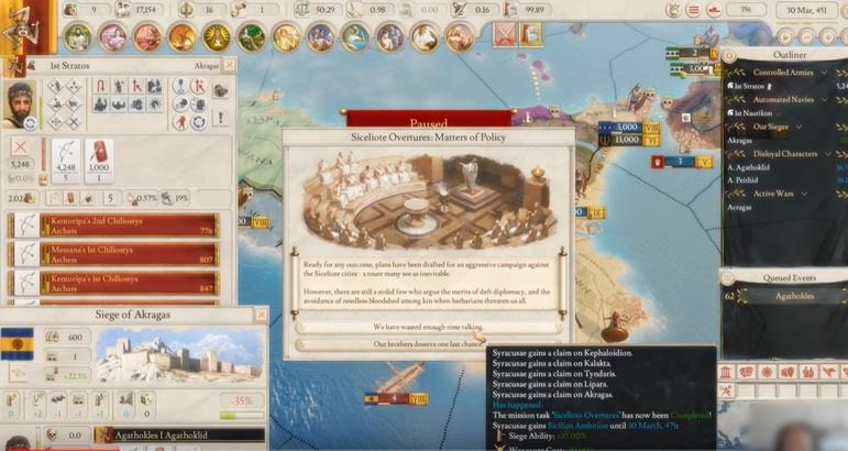 Imperator Rome Magna Graecia CODEX