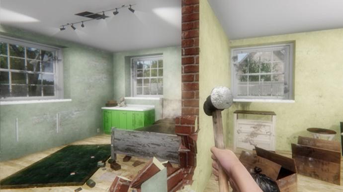 House Flipper Garden v1.20100 DINOByTES PC Game