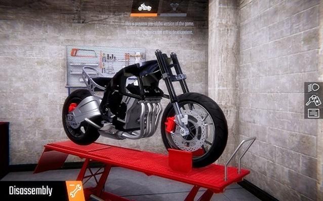 Biker Garage Mechanic Simulator Junkyard PLAZA