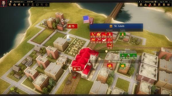 Railroad Corporation Civil War CODEX PC Game