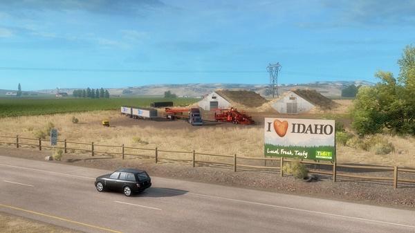 American Truck Simulator Idaho CODEX PC Game