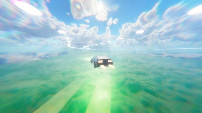 Vaporwave Drift DARKSiDERS PC Game