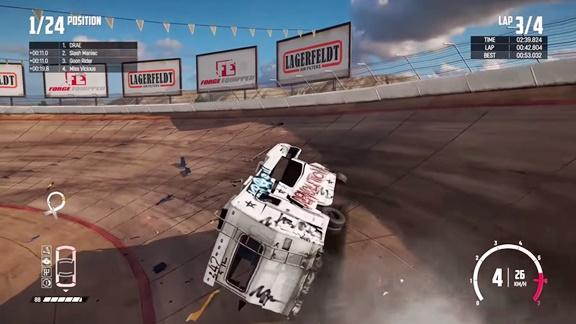Wreckfest Banger Racing CODEX PC Game