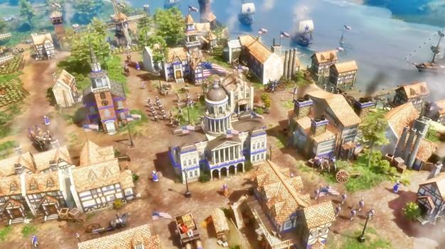 AoE III Definitive Edition United States Civilization CODEX PC Game