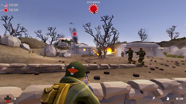 Brass Brigade Okinawa PLAZA PC Game