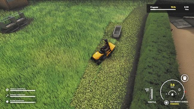 Lawn Mowing Simulator FLT PC Game
