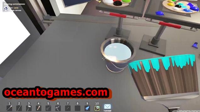 SuchArt Genius Painter Simulator Early Access PC Game